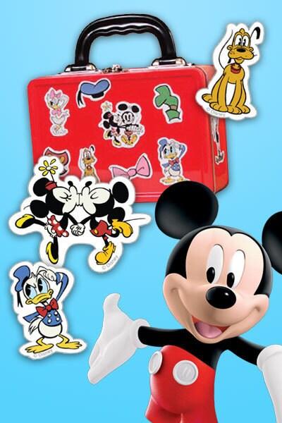 Autocollants Mickey et ses amis