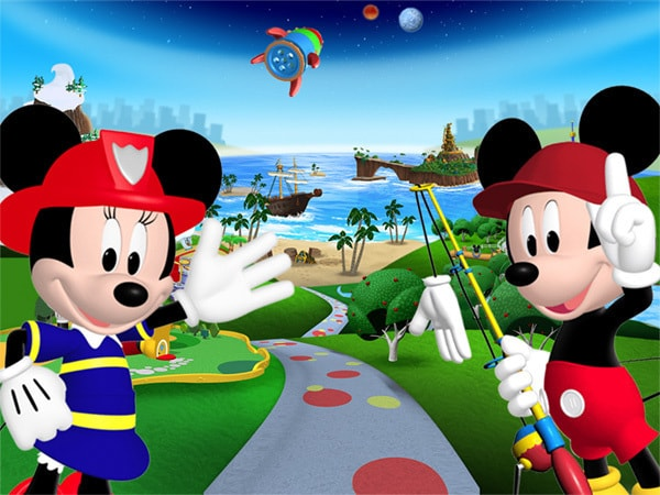 Mickey ve Minnie'nin Evrenı