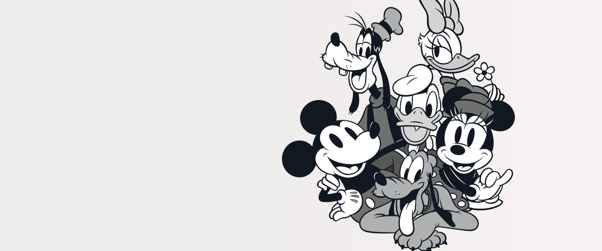 4fac0aa5b77a6 Illustrated image of Mickey Mouse