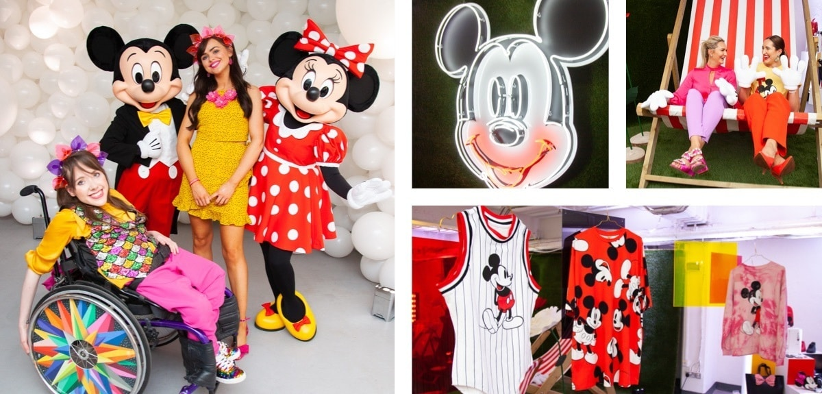 Apparel from the Mickey & Minnie summer fashion range