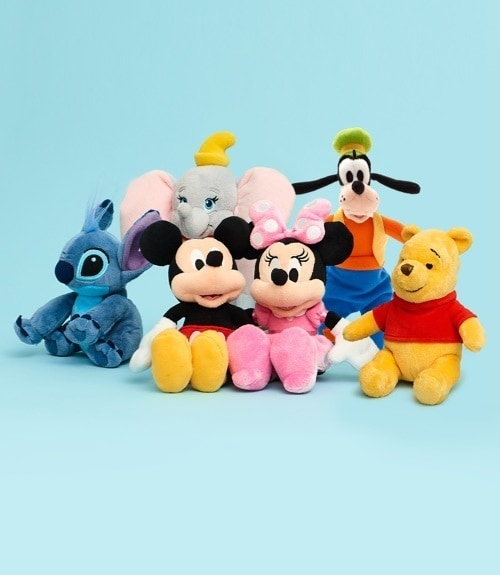 Mini bean bags inspired by Disney characters