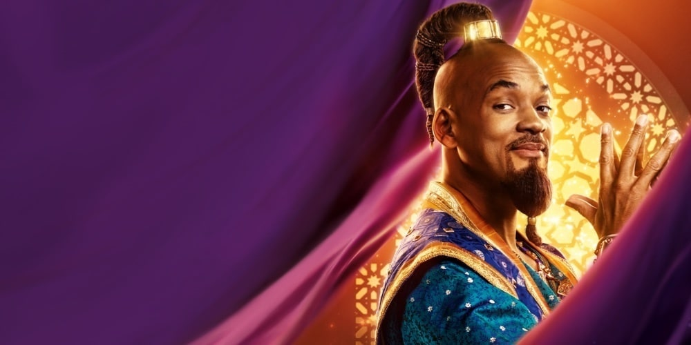 See Will Smith as Genie in Aladdin at the movies