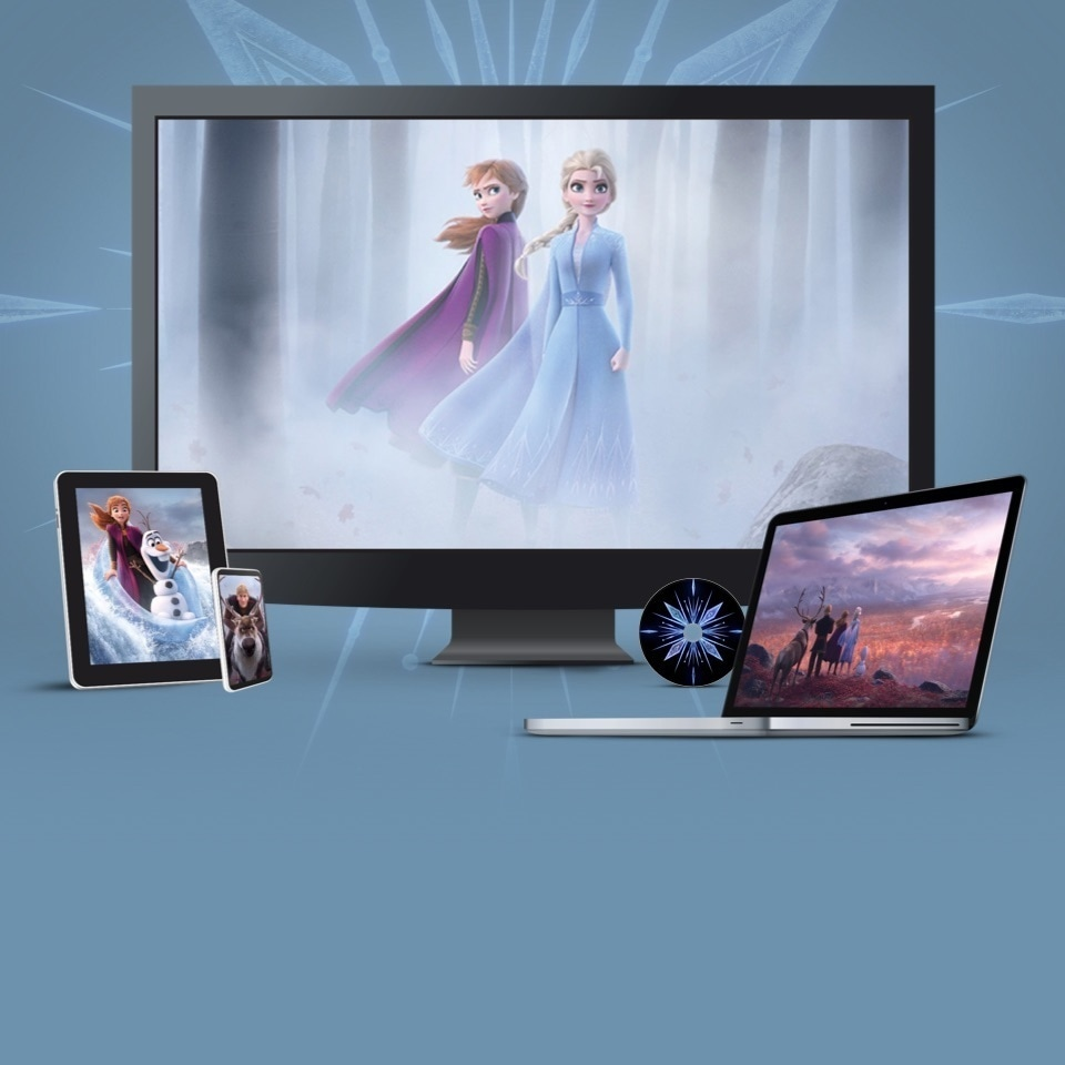 Frozen 2 in DVD, Blu-Ray e download digitale