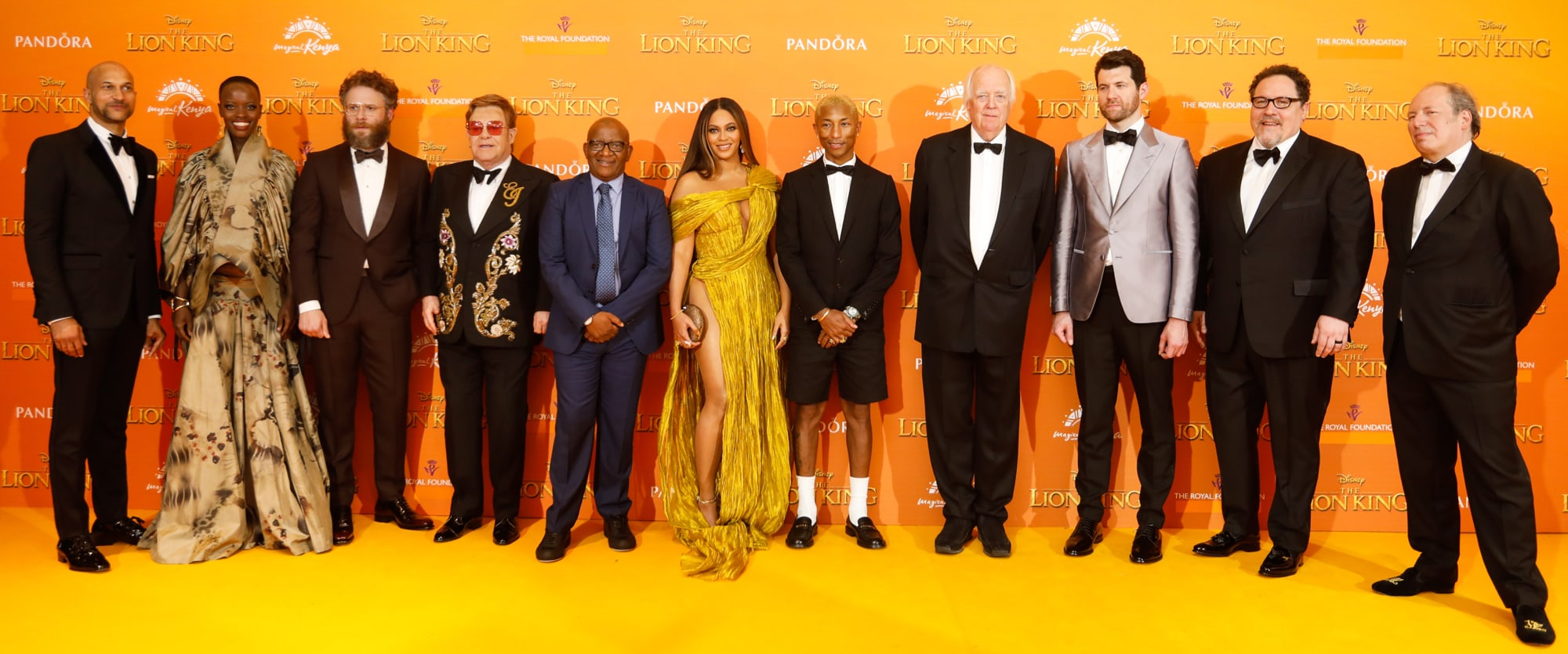 The Lion King European Premiere | MOVIES