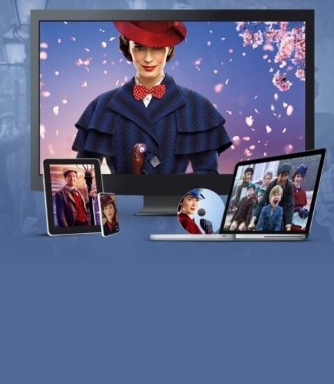 Mary Poppins' Rückkehr | Auf DVD, Blu-ray und als digitaler Download erhältlich