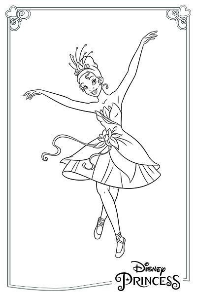 Tiana ballerina
