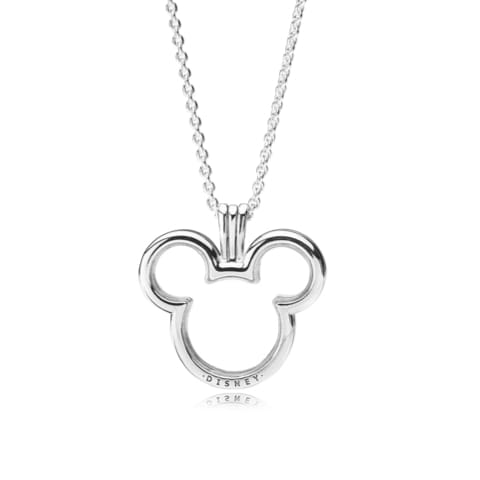 Disney, Mickey Locket Necklace