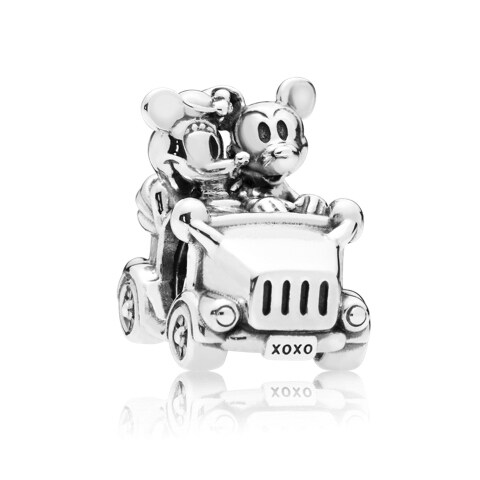 Disney, Mickey And Minnie Vintage Car Charm