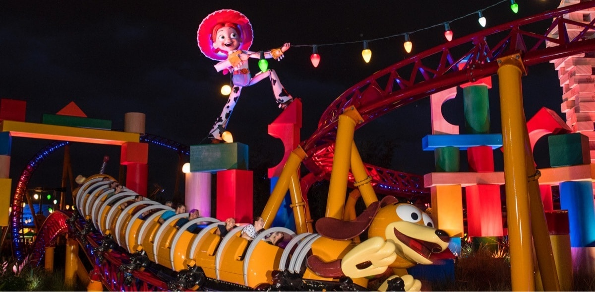 Jessie e Slinky a Toy Story Land nel Walt Disney World