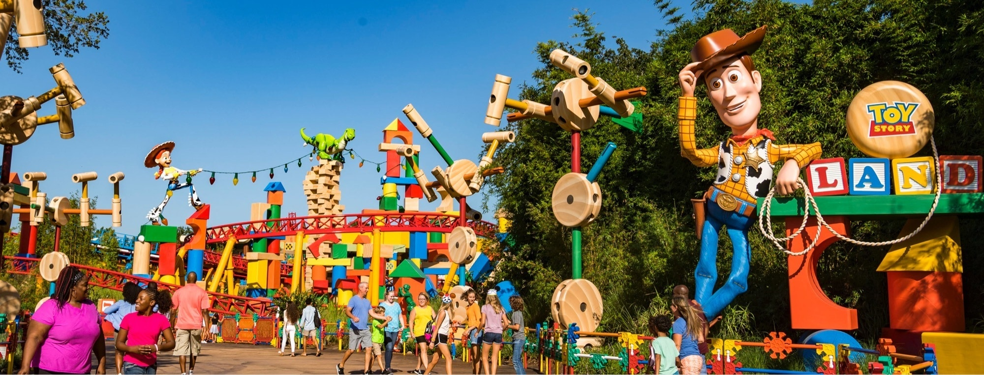 Walt Disney World - Toy Story Land