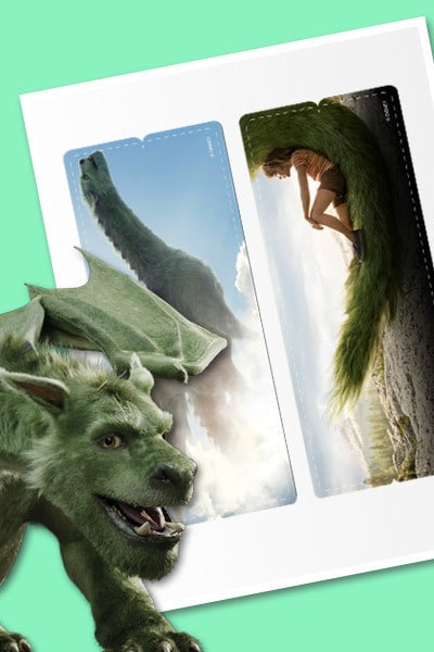 Pete's Dragon Bookmarks