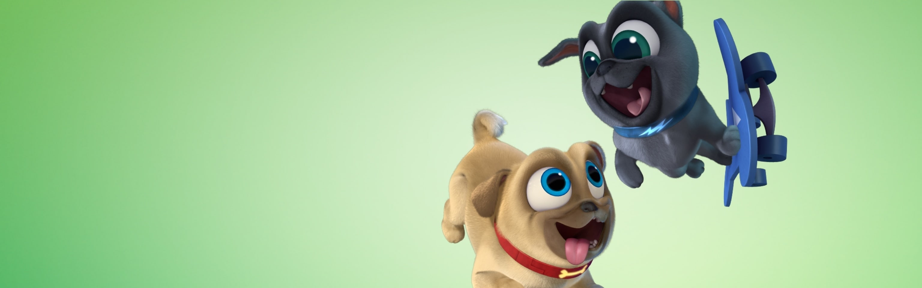 Puppy Dog Pals - Homepage Hero