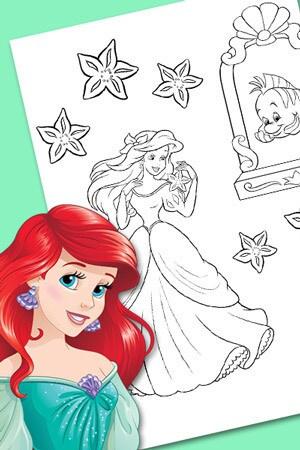 Ariel - tæl søstjernerne