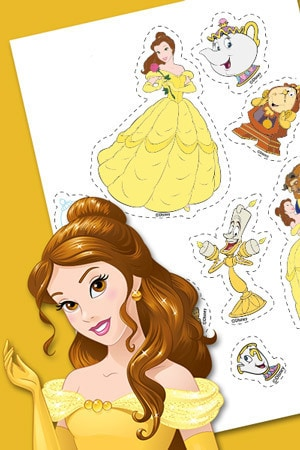 Belle Stickers