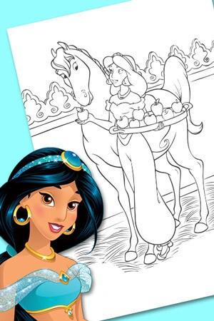Jasmine compte les pommes