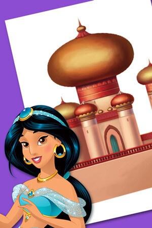 Jasmine's castle.