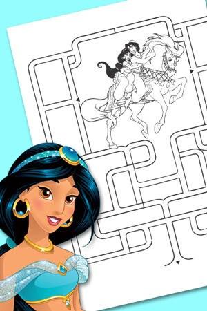 Labyrinthe de Jasmine