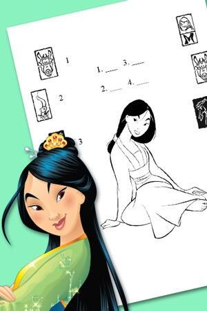 Dopasuj symbole z Mulan