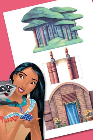 Het huis van Pocahontas