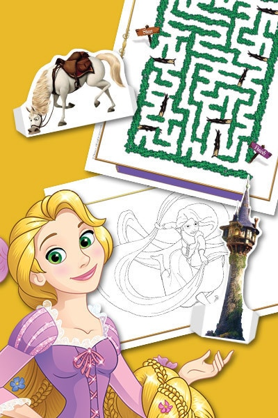Rapunzel Activity Pack