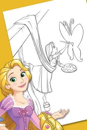 Aktiv mit Rapunzel
