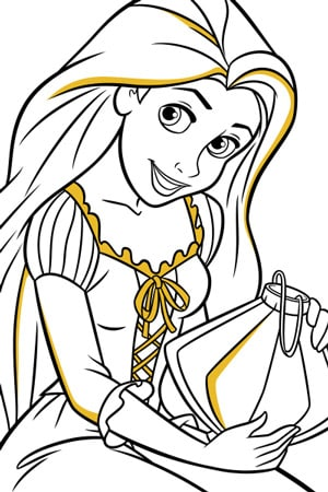 Disney Princess Colouring Pages & Activities - Disney Create