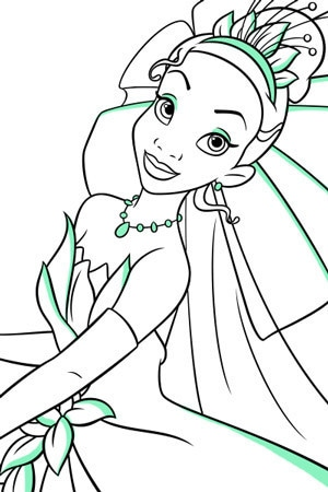 Colouring In Pages Wedding : Disney princess colouring pages & activities create