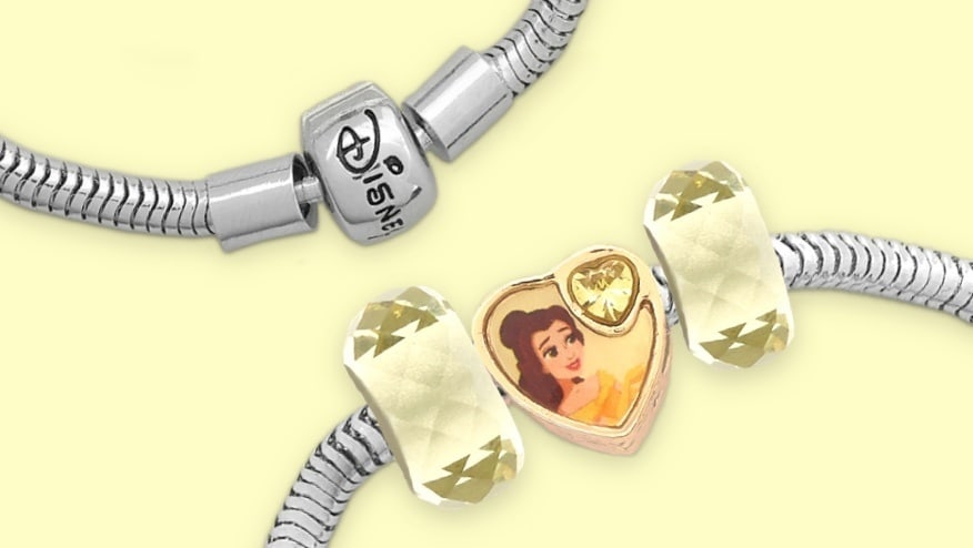 Belles Charme aus der Disney Prinzessinen-Charms-Kollektion.
