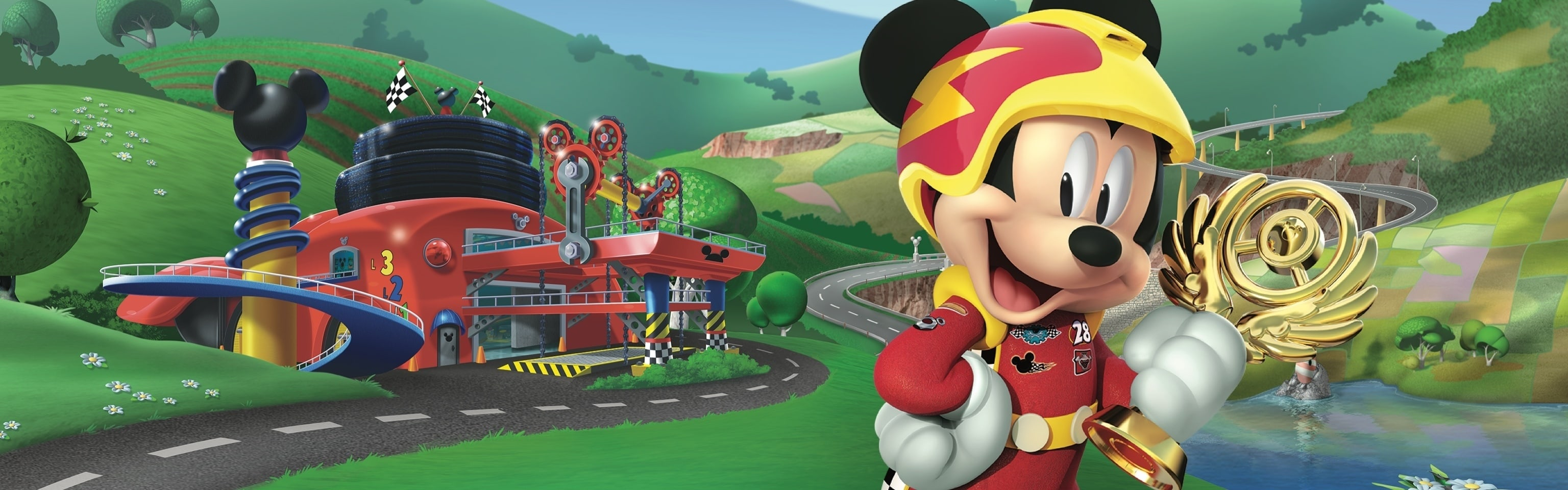 Mickey Roadster Racers - Homepage Hero