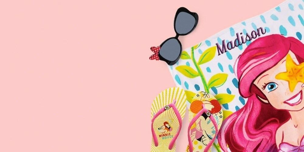 Disney Store | Personalizzazione Gratis Sui Teli Mare