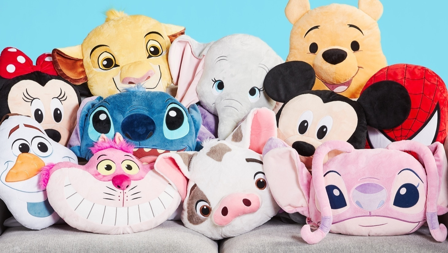 Cushions inspired by Disney characters