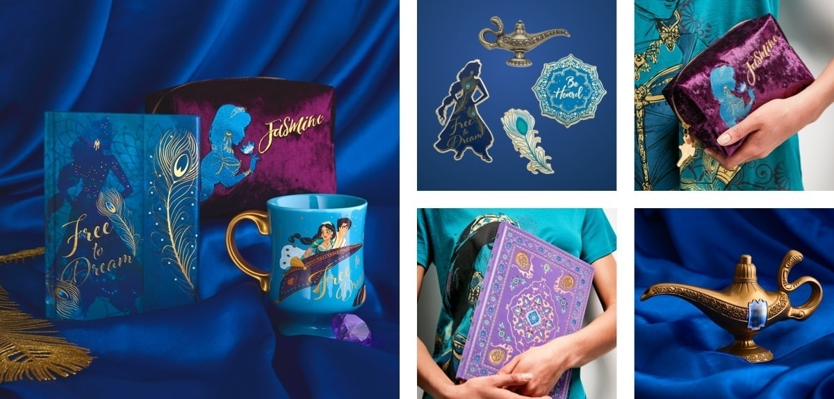 A selection of products from Aladdin available at shopDisney