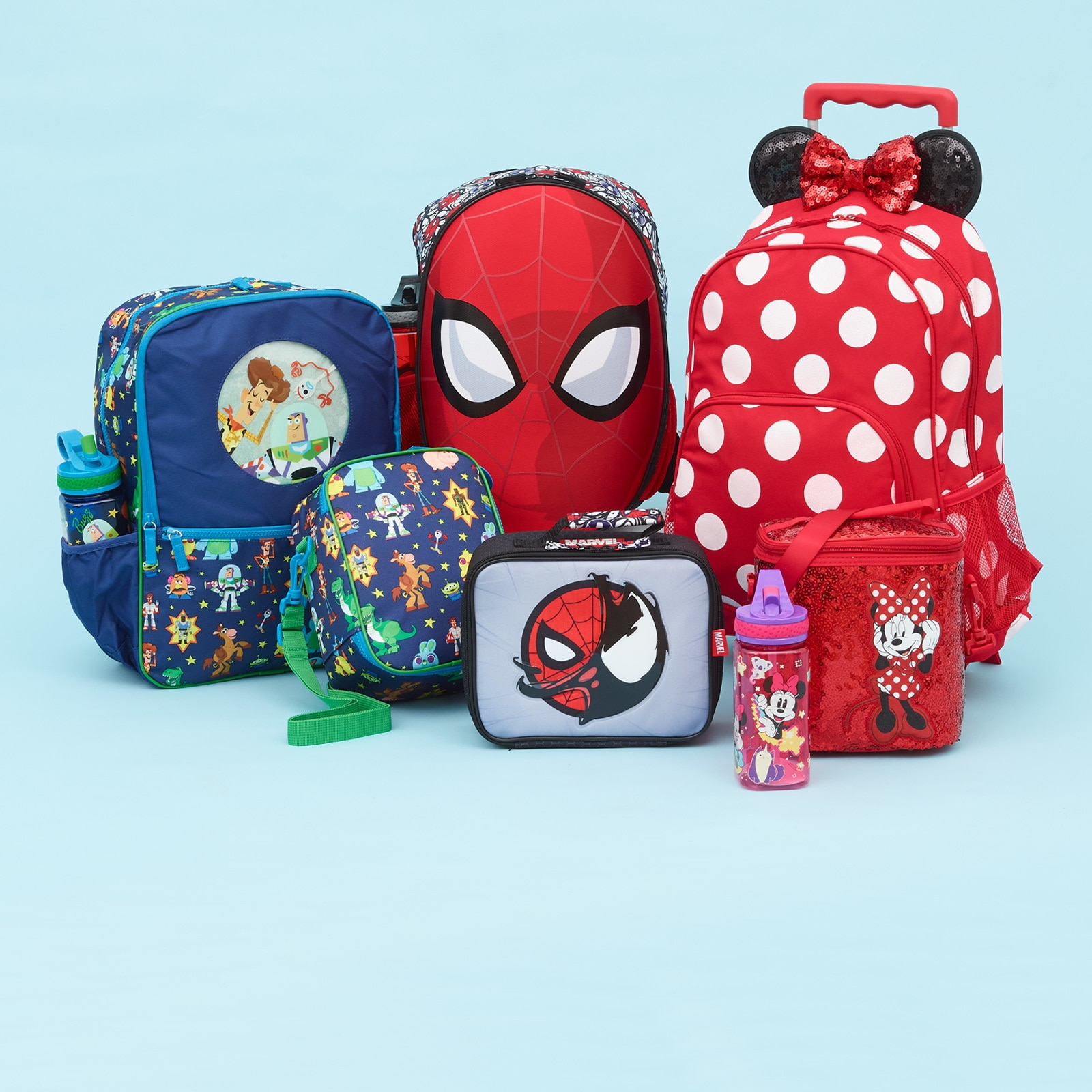 Backpacks inspired by Disney characters