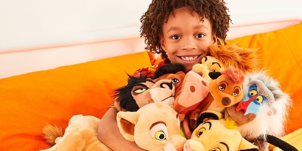 A variety of Lion King inspired products.