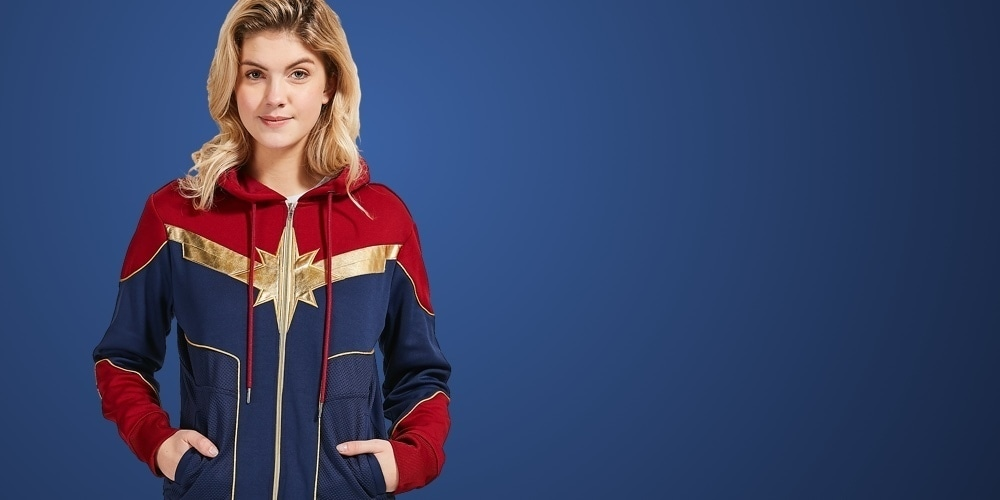 Captain Marvel bij shopDisney