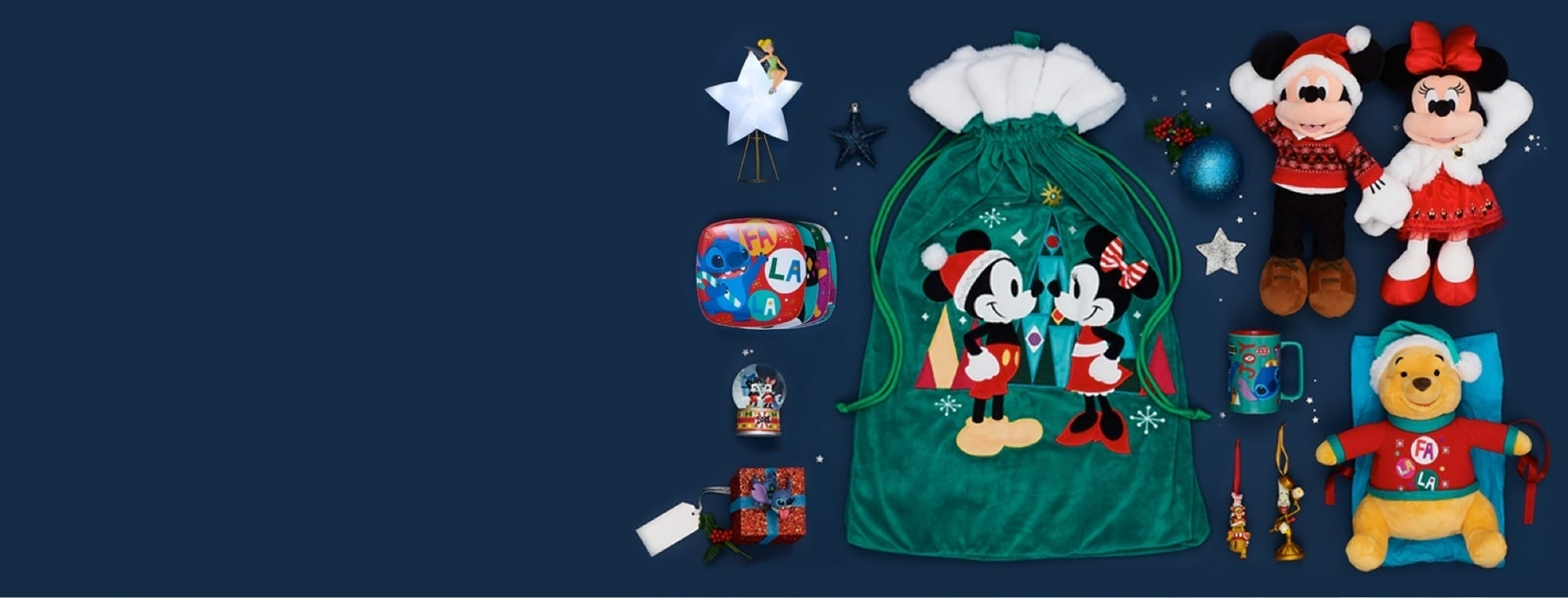 Get Set for Christmas with shopDisney