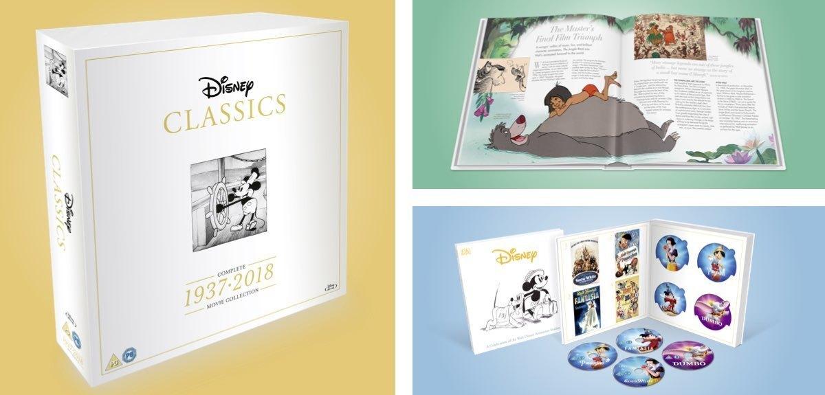 disney classics complete movie box set