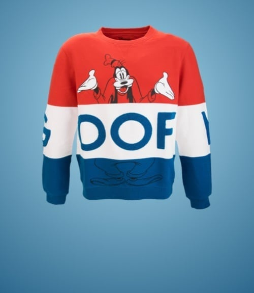 shopDisney | Sweatshirt Dingo pour Adultes Disneyland Paris x Eleven Paris