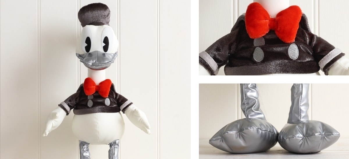 Limited Edition Donald Duck soft toy.