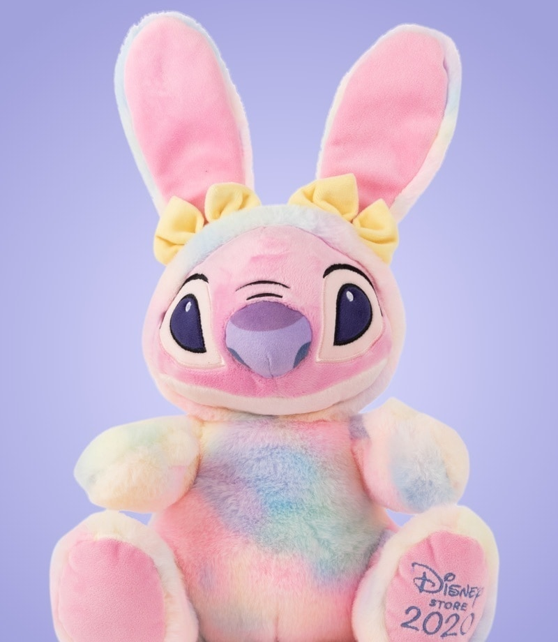 Angel soft toy dressed as bunny