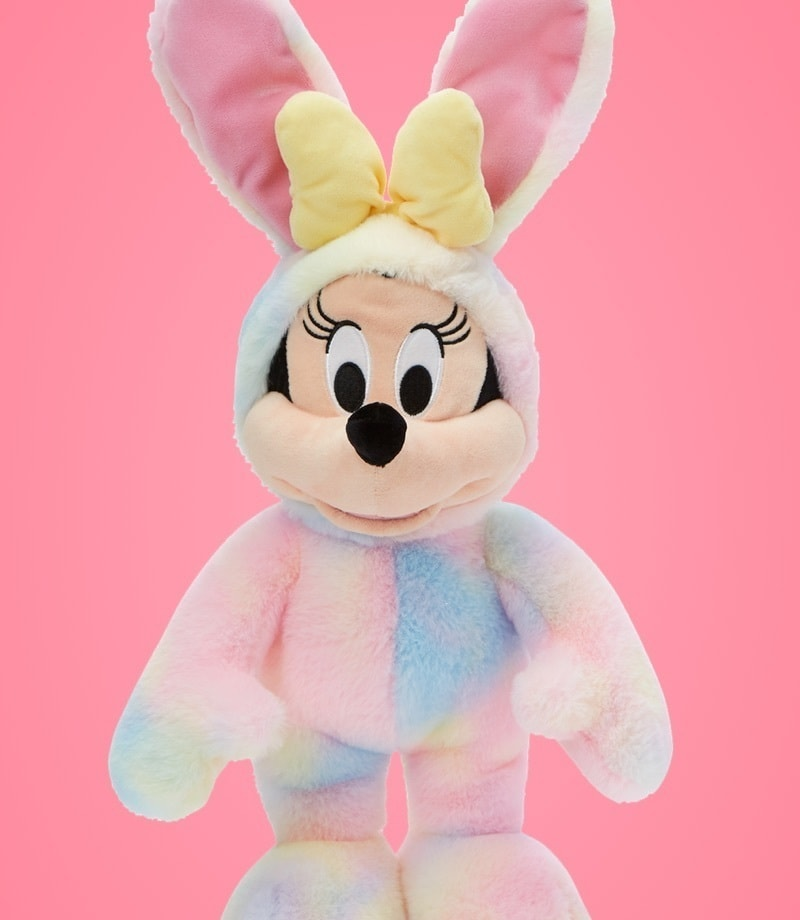 Minnie Mouse soft toy dressed as bunny