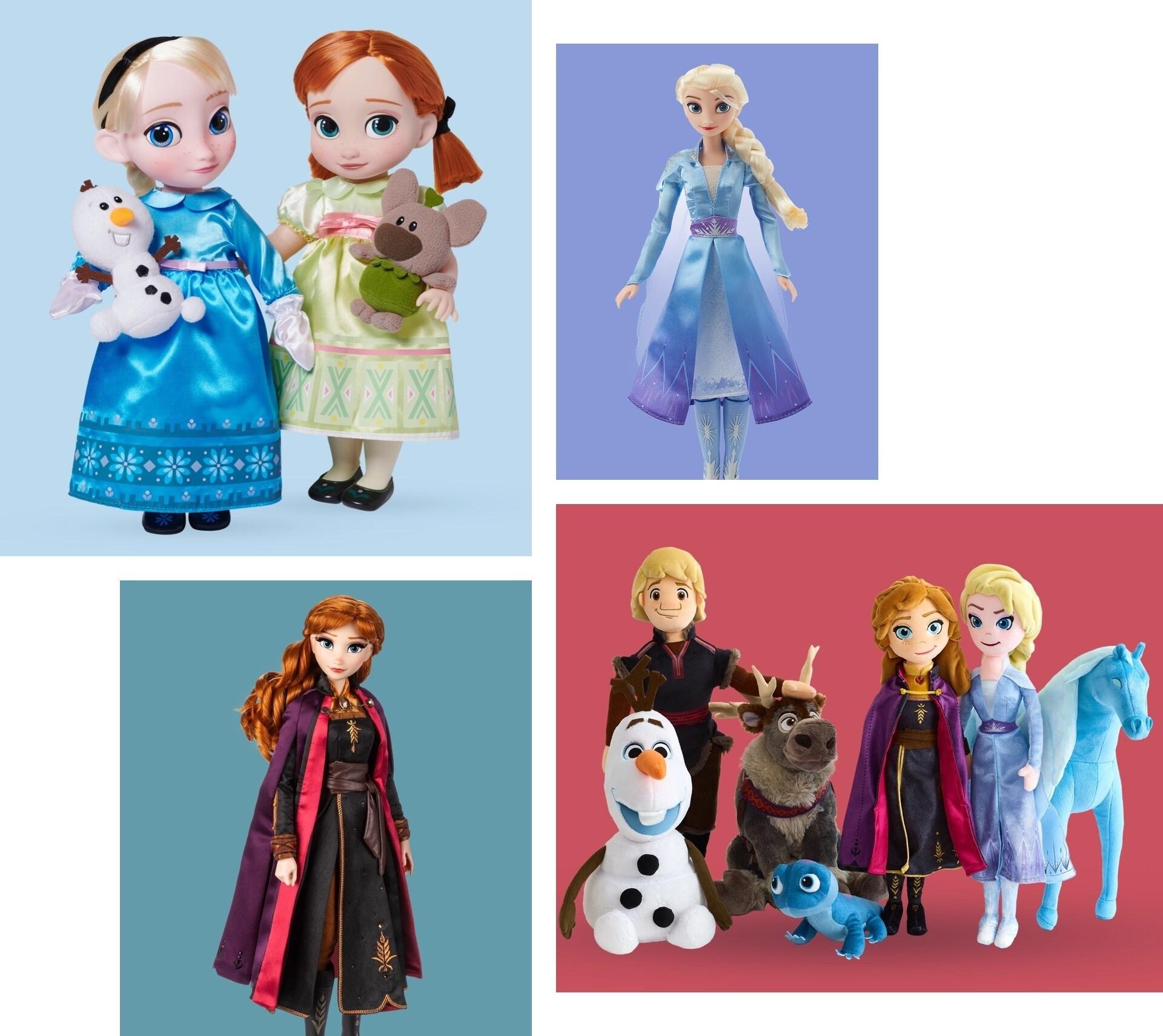 """Eine Auswahl von Produkten, inspiriert durch """"Frozen""""."""