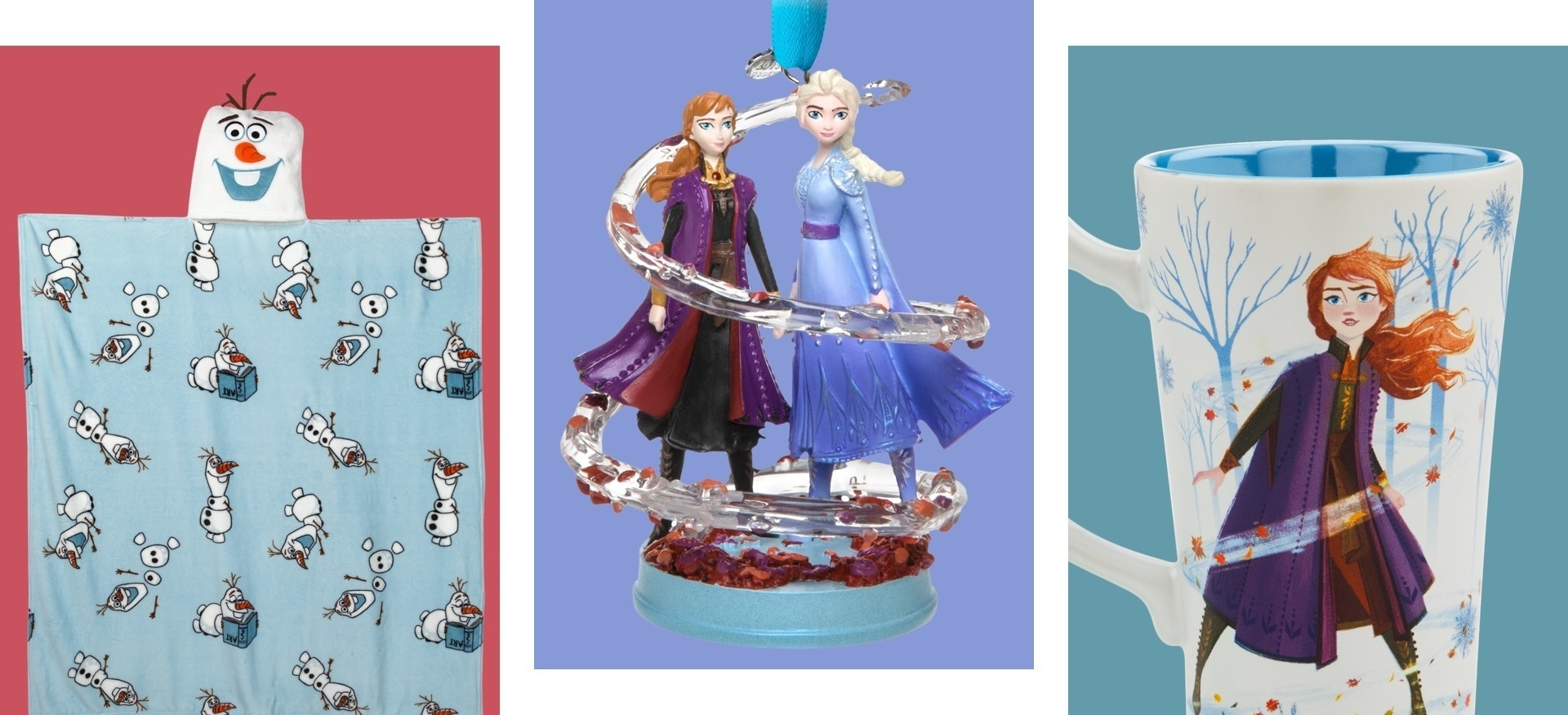 A selection of products inspired by Frozen