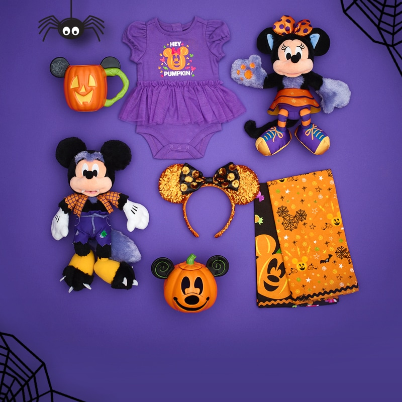 A selection of Halloween inspired products
