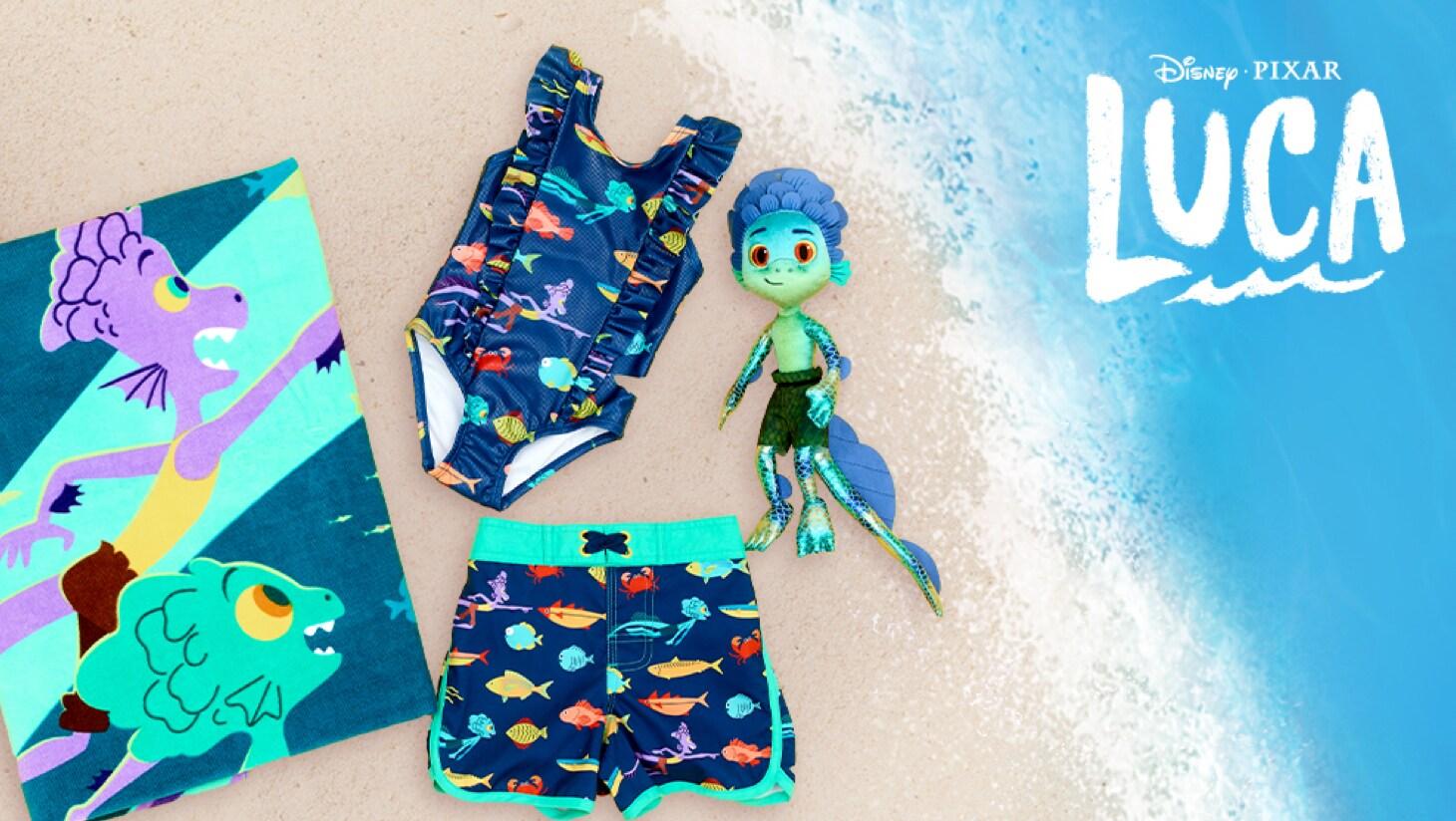 Eine Auswahl an Produkte inspiriert von Luca von shopDisney