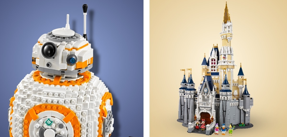 shopDisney | LEGO Walt Disney World Castle & LEGO BB-8