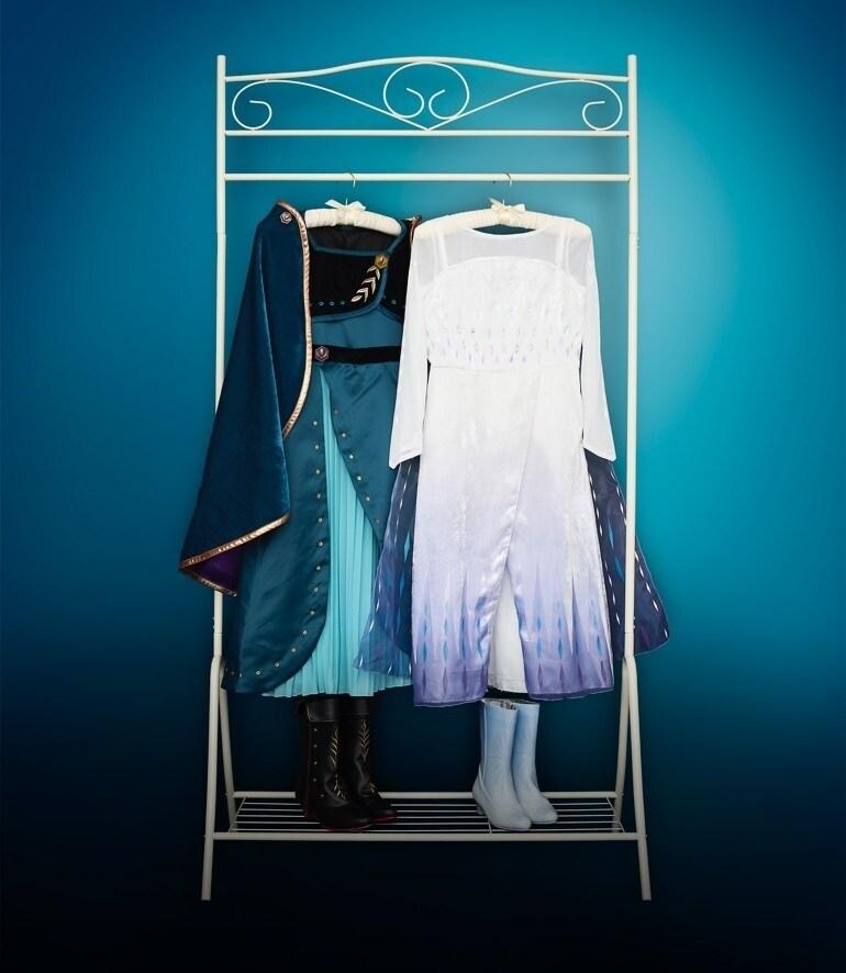 Disfarces de Anna e Elsa