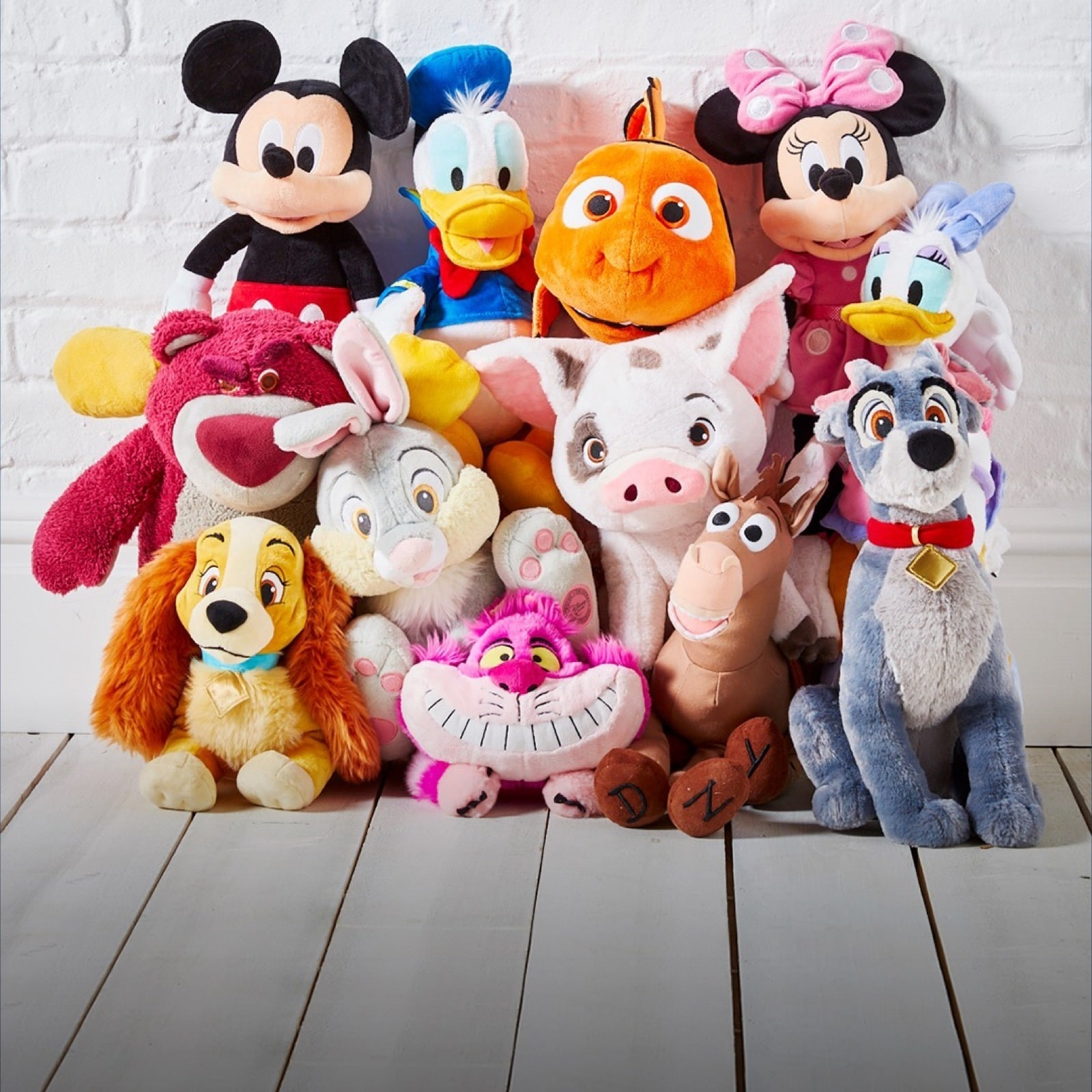 A selection of medium soft toys