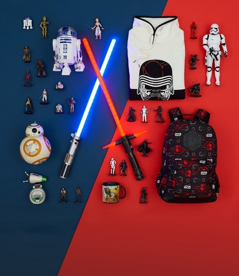 Star Wars: Der Aufstieg Skywalkers bei shopDisney