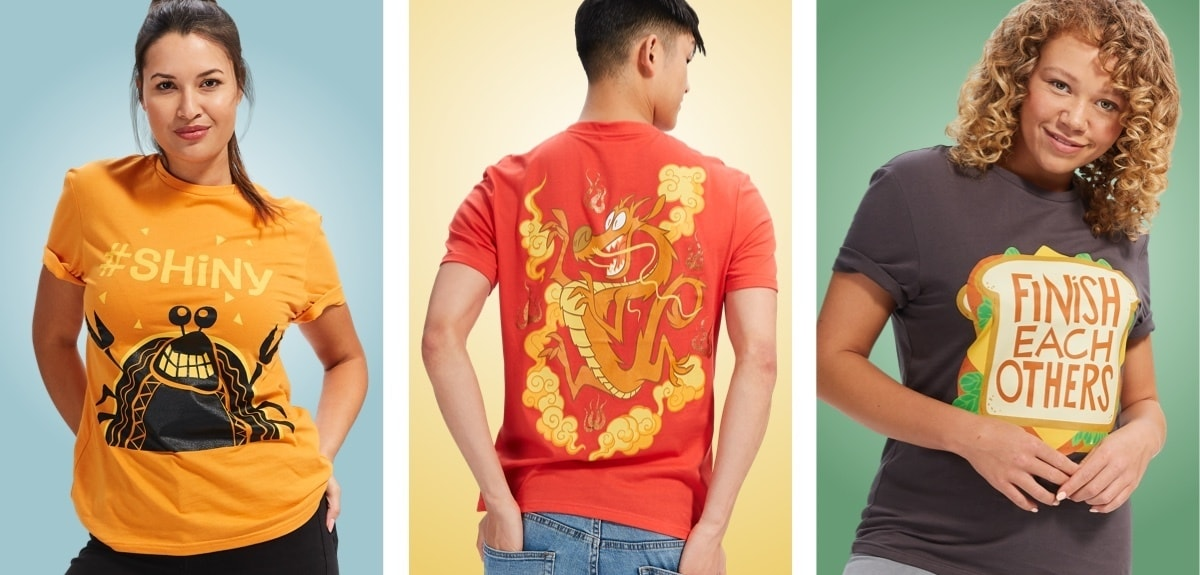 Ralph Breaks the Internet Regal Loungewear t-shirts